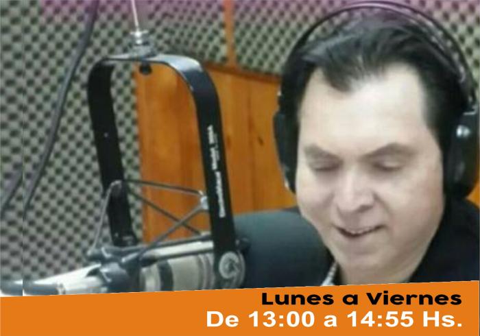 Oscar Pérez en Radio Ysapy