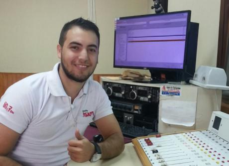 Oscar Candia Operador Radio Ysapy