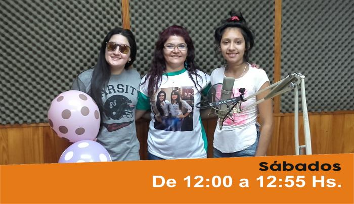 Las Hermanas Caballero en los estudios de Radio Ysapy