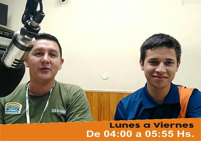 Silvio García conductor del Programa La Voz de la Liberación