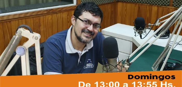 Espacio exclusivo Discos Cerro Corá con Coco García
