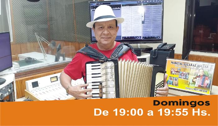 El acordeón romántico del Dr. Marcial Alcaraz Aguiar. Conduce Coco García