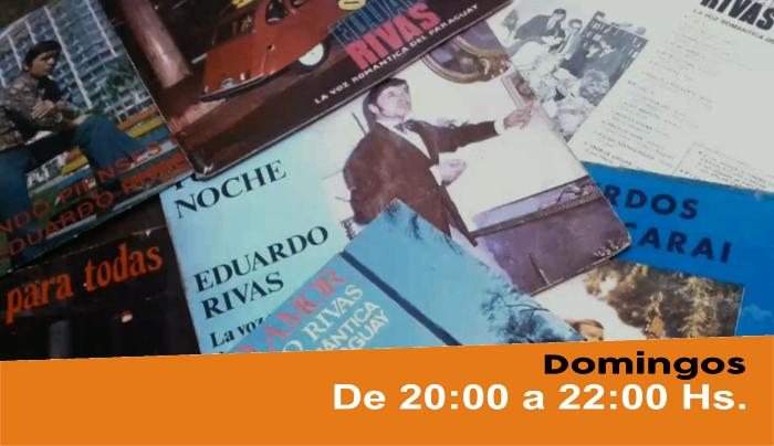 Cantando te diré, con «La Voz Romántica» Eduardo rivas